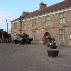 The Castle and Regimental Museum Monmouth
